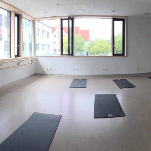 Bürgerhaus Kernen, Pilates, Wirbelsäulengymnastik, Waiblingen, Weinstadt, Kursraum