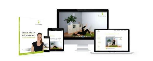 Rückbildungsgymnastik, Rückbildungskurs, Rückbildung, Online-Rückbildung, Rückbildungsgymnastik Zuhause